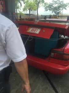 Octavio's cab